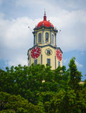Πύργος ρολογιών της Μανίλα Δημαρχείο Στοκ Φωτογραφία