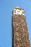 Πύργος ρολογιών της Τυνησίας Στοκ φωτογραφία με δικαίωμα ελεύθερης χρήσης