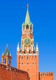 Πύργος ρολογιών του Κρεμλίνου Στοκ Εικόνες