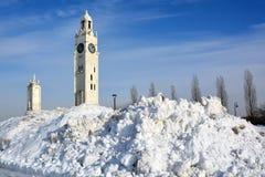 Πύργος ρολογιών του Μόντρεαλ Στοκ Φωτογραφίες