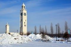 Πύργος ρολογιών του Μόντρεαλ Στοκ φωτογραφία με δικαίωμα ελεύθερης χρήσης