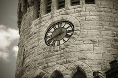 Πύργος ρολογιών του Castle Στοκ Εικόνες