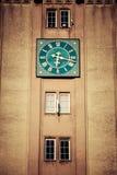 Πύργος ρολογιών του Wladyslawowo, Πολωνία Στοκ Φωτογραφίες