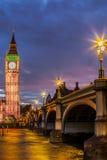 Πύργος ρολογιών Big Ben Στοκ εικόνες με δικαίωμα ελεύθερης χρήσης
