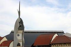Πύργος ρολογιών Eger Ουγγαρία στοκ εικόνες με δικαίωμα ελεύθερης χρήσης