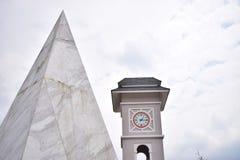Πύργος ρολογιών Fansipan Στοκ Εικόνες