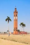Πύργος ρολογιών Husainabad Στοκ Φωτογραφίες