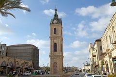 Πύργος ρολογιών Jaffa Στοκ εικόνες με δικαίωμα ελεύθερης χρήσης