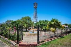 Πύργος ρολογιών - Monte Cristi, Δομινικανή Δημοκρατία Στοκ Εικόνες