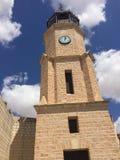 Πύργος ρολογιών Pinoso στοκ εικόνα με δικαίωμα ελεύθερης χρήσης
