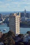Πύργος Σίδνεϊ Νότια Νέα Ουαλία Αυστραλία σημείου μπλε Στοκ Εικόνα