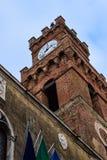 Πύργος σε ένα μικρό χωριό στην Τοσκάνη, Ιταλία Στοκ Φωτογραφίες