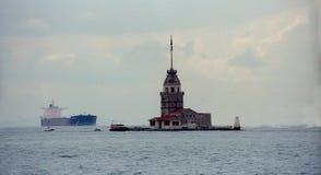 Πύργος σε Bosfor Στοκ Εικόνες