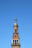 Πύργος σε Plaza Espana, Σεβίλλη Στοκ φωτογραφία με δικαίωμα ελεύθερης χρήσης