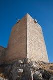 Πύργος σε Santa Catalina Castle στο Jae'n στοκ εικόνα