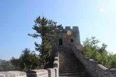 Πύργος Σινικών Τειχών της Κίνας Στοκ φωτογραφίες με δικαίωμα ελεύθερης χρήσης