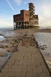 πύργος σιταριού μπαταριών Στοκ φωτογραφία με δικαίωμα ελεύθερης χρήσης