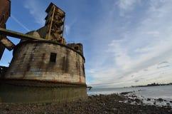 πύργος σιταριού μπαταριών Στοκ Εικόνες