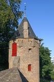 Πύργος σκονών της πύλης Monnikendam Amersfoort πόλεων στοκ εικόνες