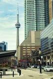 Πύργος ΣΟ στο Τορόντο, Καναδάς Στοκ Εικόνες