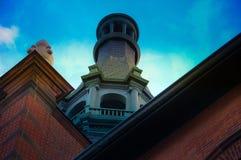 Πύργος σταθμών ραγών Στοκ Εικόνες