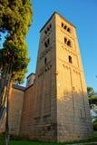 Πύργος στο ισπανικό χωριό στο Montjuic στη Βαρκελώνη Στοκ Εικόνα