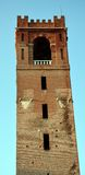 Πύργος στο κύριο τετράγωνο, στο Καστελφράνκο Βένετο, Ιταλία Στοκ εικόνες με δικαίωμα ελεύθερης χρήσης