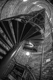 Πύργος στο παλαιό ανθρακωρυχείο Στοκ Φωτογραφία