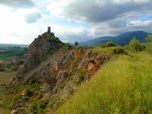 Πύργος στο λόφο στοκ εικόνες