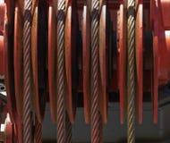 πύργος σχοινιών γερανών Στοκ εικόνες με δικαίωμα ελεύθερης χρήσης
