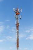 Πύργος τηλεπικοινωνιών τηλεφωνικού Πολωνού Στοκ Εικόνες