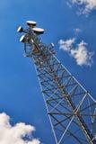 πύργος τηλεπικοινωνιών Στοκ εικόνες με δικαίωμα ελεύθερης χρήσης