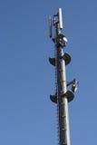 Πύργος τηλεφωνικών κεραιών κυττάρων Στοκ φωτογραφία με δικαίωμα ελεύθερης χρήσης