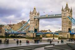 πύργος της Αγγλίας Λονδί& Στοκ Εικόνα