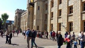 πύργος της Αγγλίας Λονδίνο Στοκ εικόνες με δικαίωμα ελεύθερης χρήσης