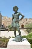 Πύργος της ακρόπολης του Δαβίδ Ιερουσαλήμ - Ισραήλ Στοκ φωτογραφία με δικαίωμα ελεύθερης χρήσης