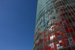 πύργος της Βαρκελώνης Στοκ φωτογραφία με δικαίωμα ελεύθερης χρήσης
