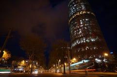 Πύργος της Βαρκελώνης Agbar Στοκ Φωτογραφία