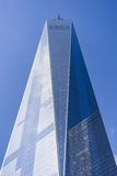 Πύργος της Ελευθερίας, ένα World Trade Center, πόλη της Νέας Υόρκης, ΗΠΑ Στοκ Φωτογραφίες
