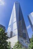 Πύργος της Ελευθερίας, ένα World Trade Center, πόλη της Νέας Υόρκης, ΗΠΑ Στοκ εικόνες με δικαίωμα ελεύθερης χρήσης