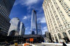 Πύργος της Ελευθερίας του World Trade Center Στοκ φωτογραφία με δικαίωμα ελεύθερης χρήσης