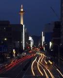 πύργος της Ιαπωνίας Κιότο Στοκ Εικόνες