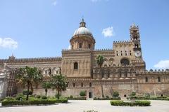 πύργος της Ιταλίας Παλέρμο Σικελία ρολογιών καθεδρικών ναών Στοκ φωτογραφίες με δικαίωμα ελεύθερης χρήσης