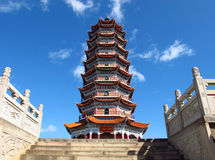 Πύργος της Κίνας στοκ εικόνα με δικαίωμα ελεύθερης χρήσης