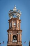 Πύργος της κυρίας μας εκκλησίας του Guadalupe - Puerto Vallarta, Jalisco, Μεξικό Στοκ φωτογραφία με δικαίωμα ελεύθερης χρήσης