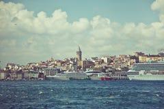 πύργος της Κωνσταντινούπολης galata Στοκ Εικόνα