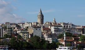 πύργος της Κωνσταντινούπ&omic Στοκ Εικόνες