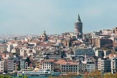 πύργος της Κωνσταντινούπ&omicr Στοκ εικόνες με δικαίωμα ελεύθερης χρήσης