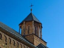 Πύργος της κύριας εκκλησίας στο μοναστήρι σύνθετο Privina Glava, Sid, Σερβία Στοκ εικόνα με δικαίωμα ελεύθερης χρήσης