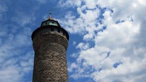 Πύργος της Νυρεμβέργης Castle Στοκ εικόνες με δικαίωμα ελεύθερης χρήσης